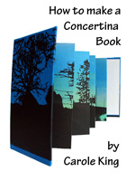How to make a Concertina book  ebook by Carole King